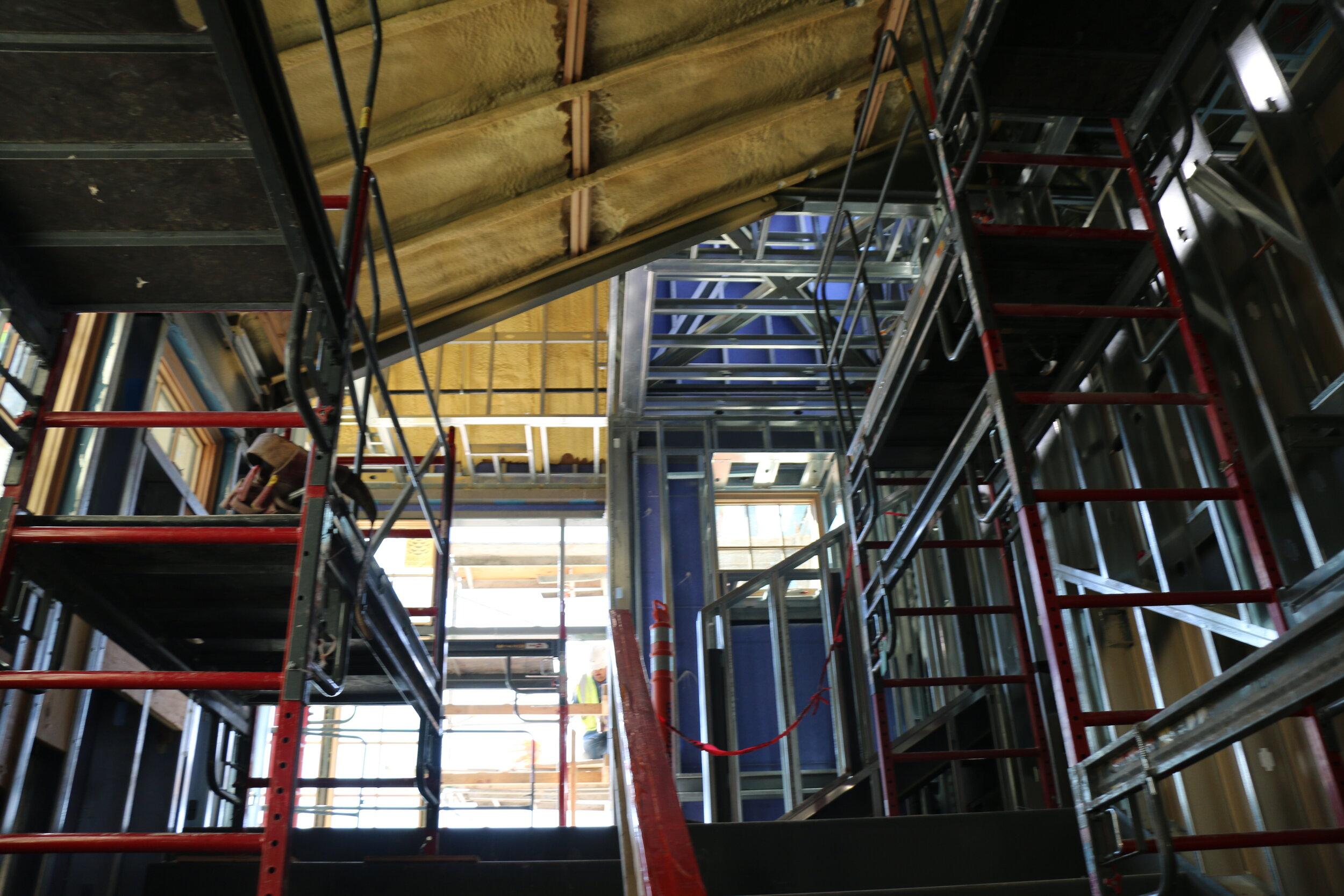 Interior Metal Gauged Framing