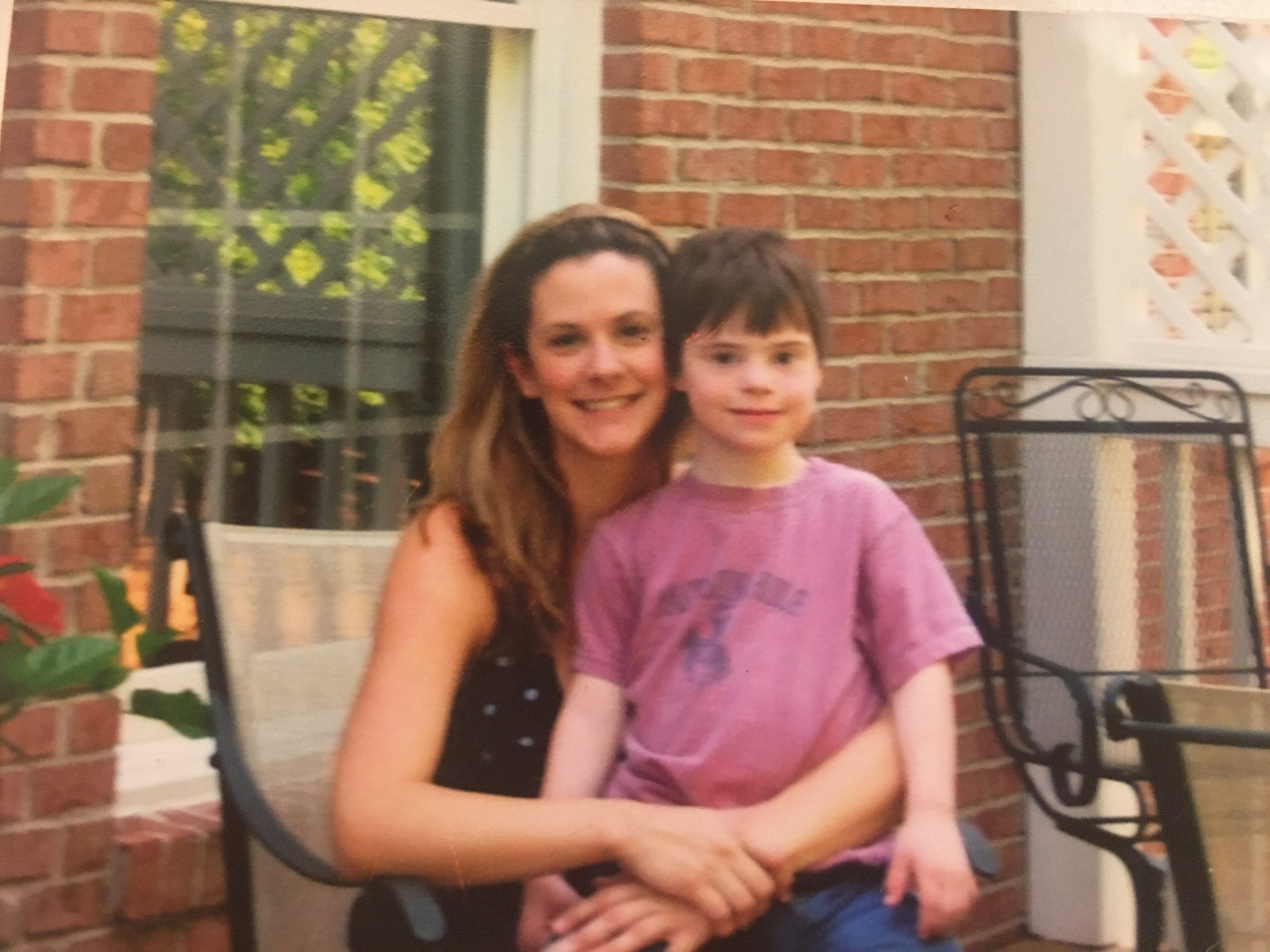 Tiffany with Gibby