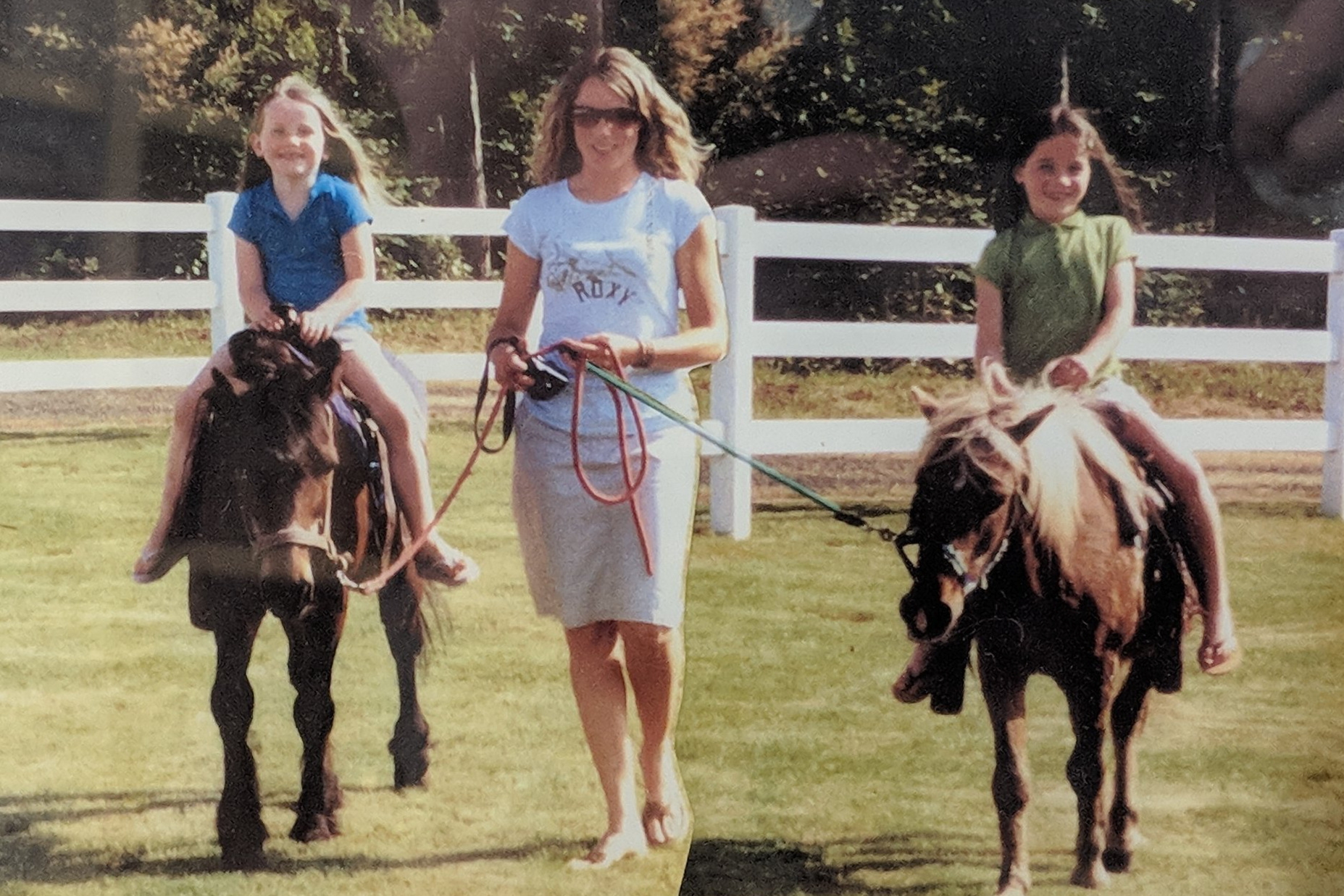 The beginning of horse love! No judgement on the flip-flops, people. I wasn't a horsewomen yet!