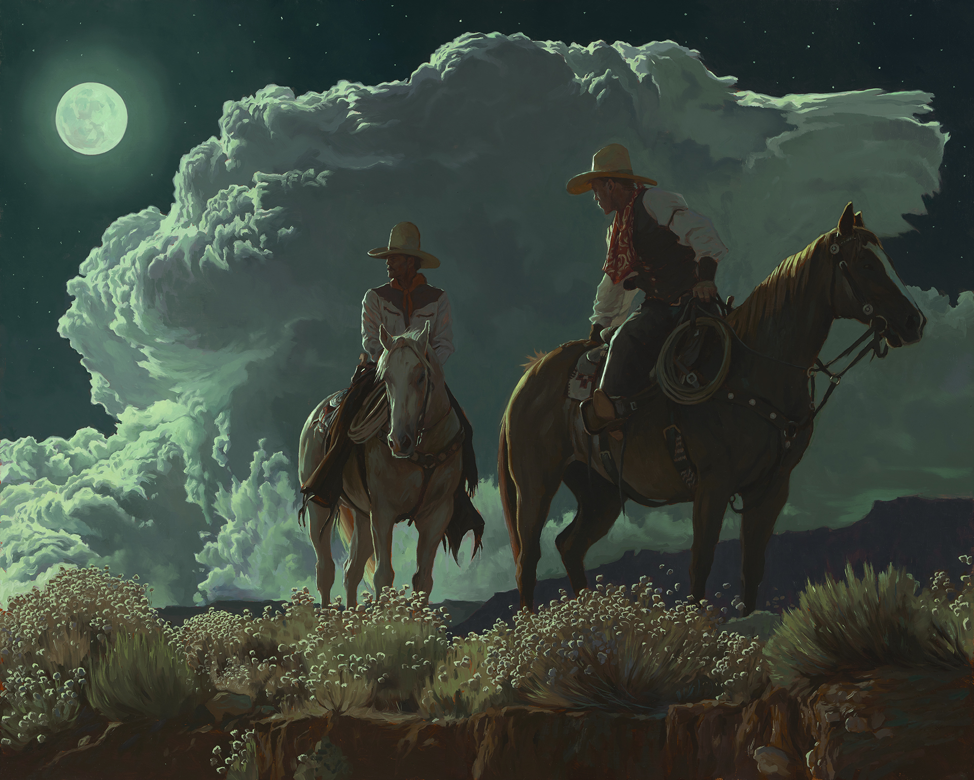 """Riders Of The Coyote Moon"""