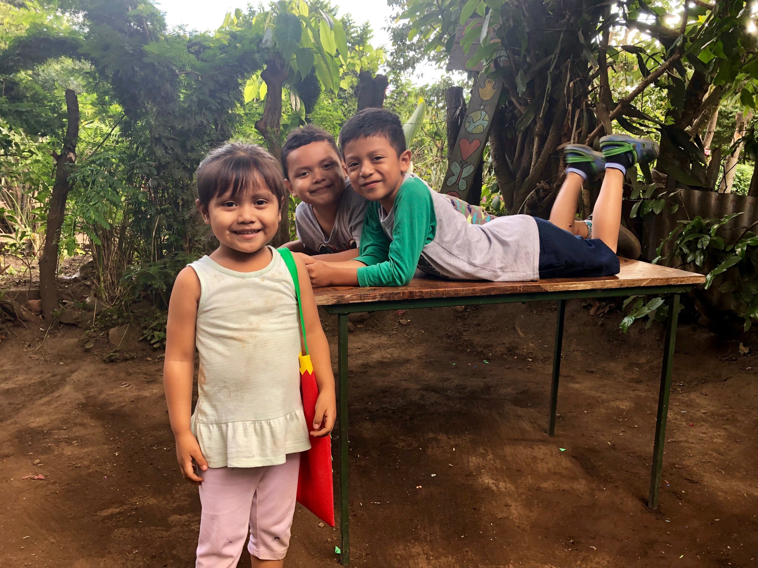 Children playing together in central Nicaragua, 2018.