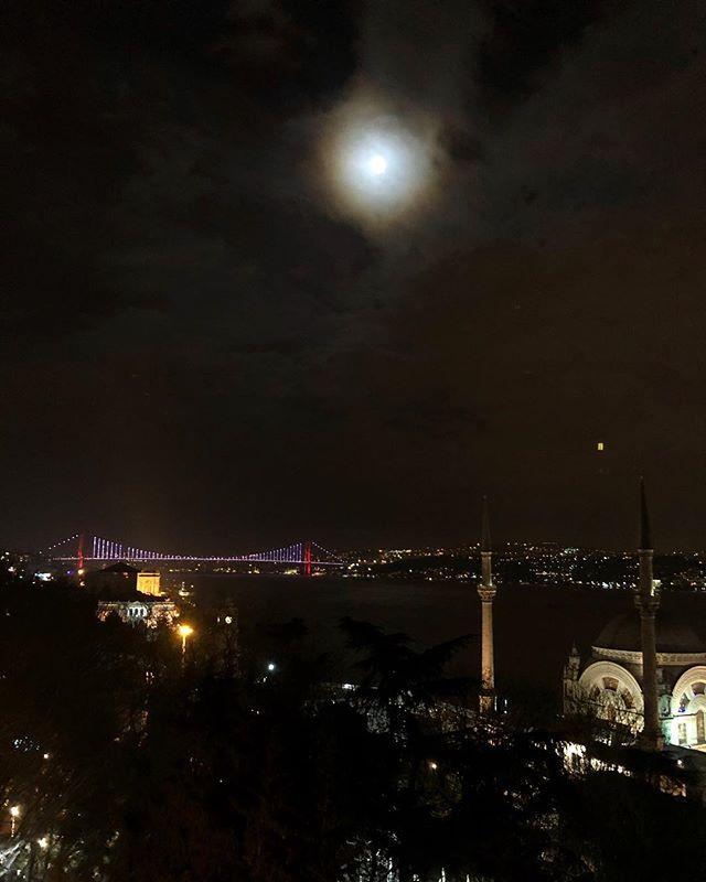 Bugün manzaramızda Kanlı Ay Tutulması🌕
