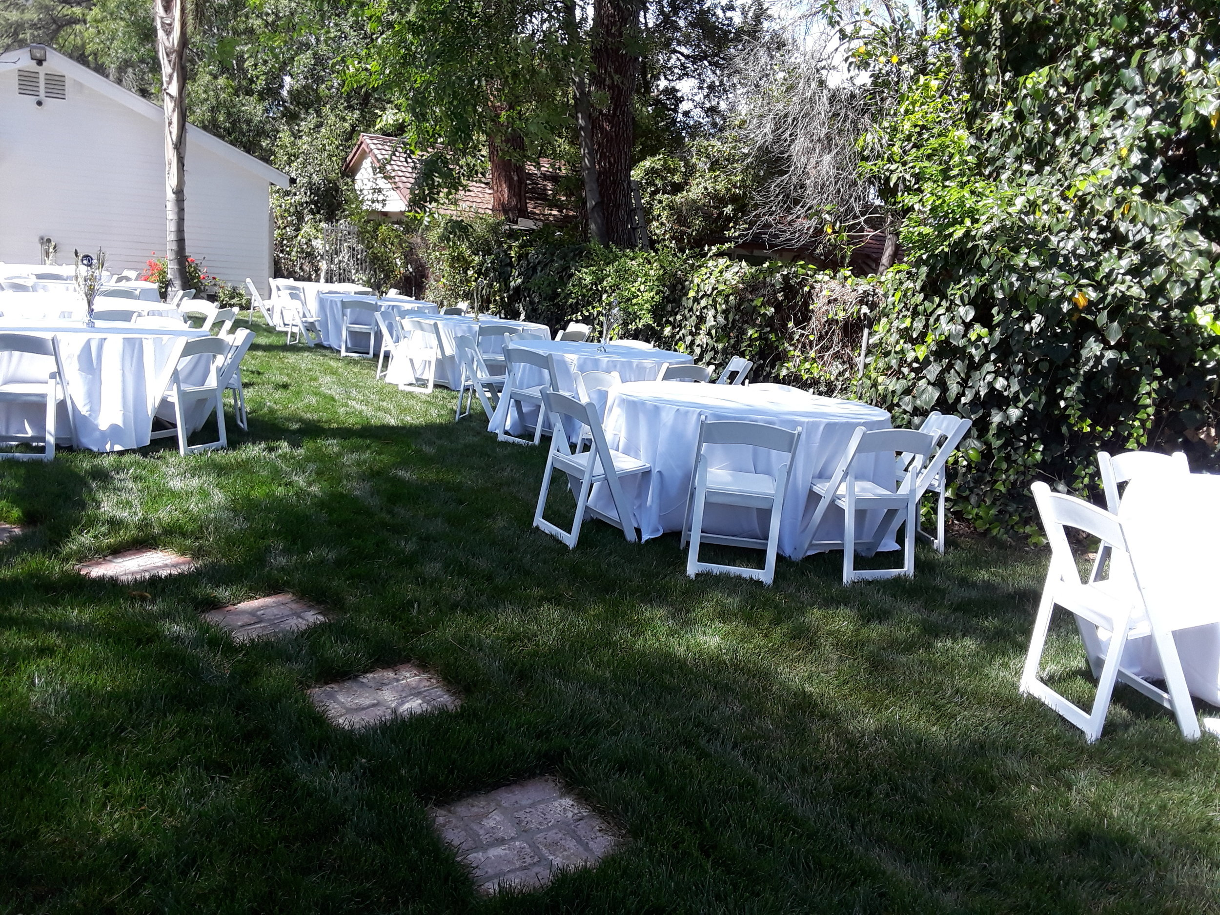 From birthday parties, back yard parties to weddings. Party Rental Creation near Westlake village covers all.