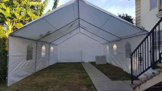20x20 Tent $195.00
