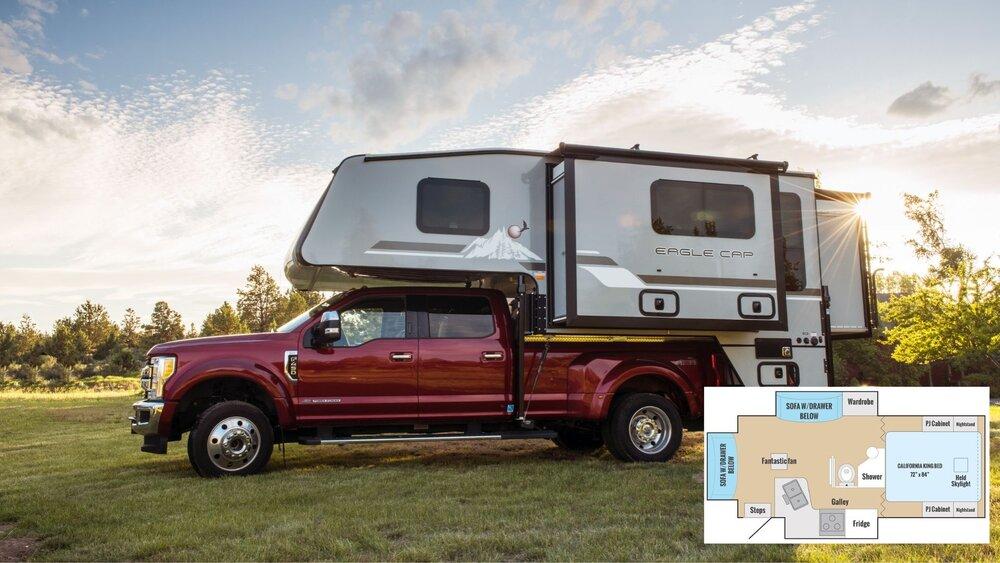 Pick up truck camper