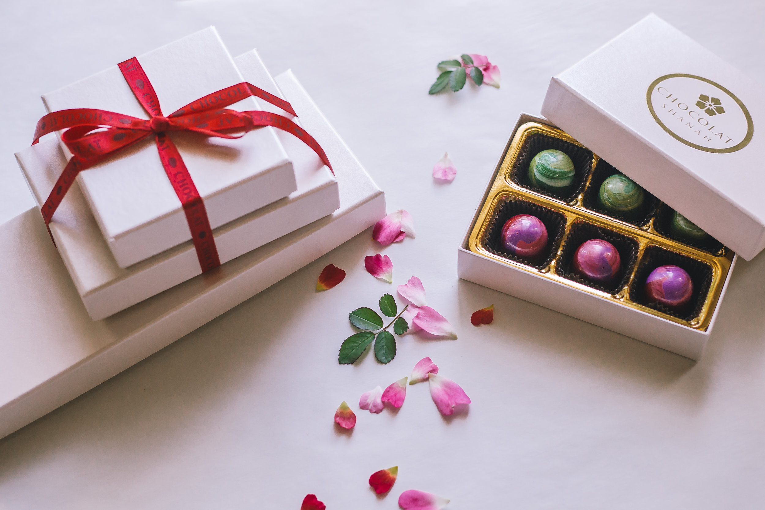 Our Chocolate Bonbons Are  Beautiful & Delicious - Our handmade chocolate bonbons make as much of an impression on the eyes as they do on your taste-buds! See our full list of flavors!