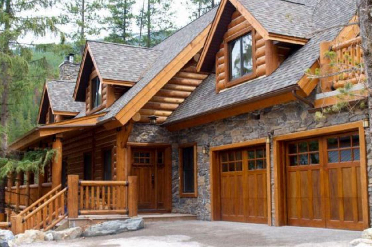 Elk Ridge Log Home