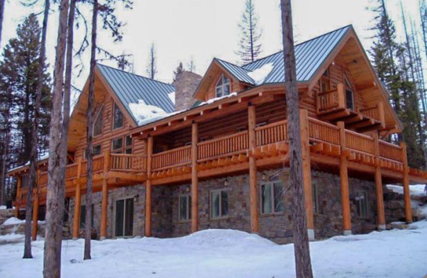 Caribou Log Home