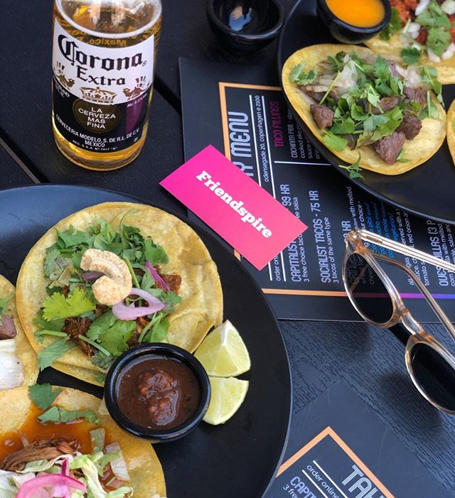 Tacos and Corona - a match made in hea