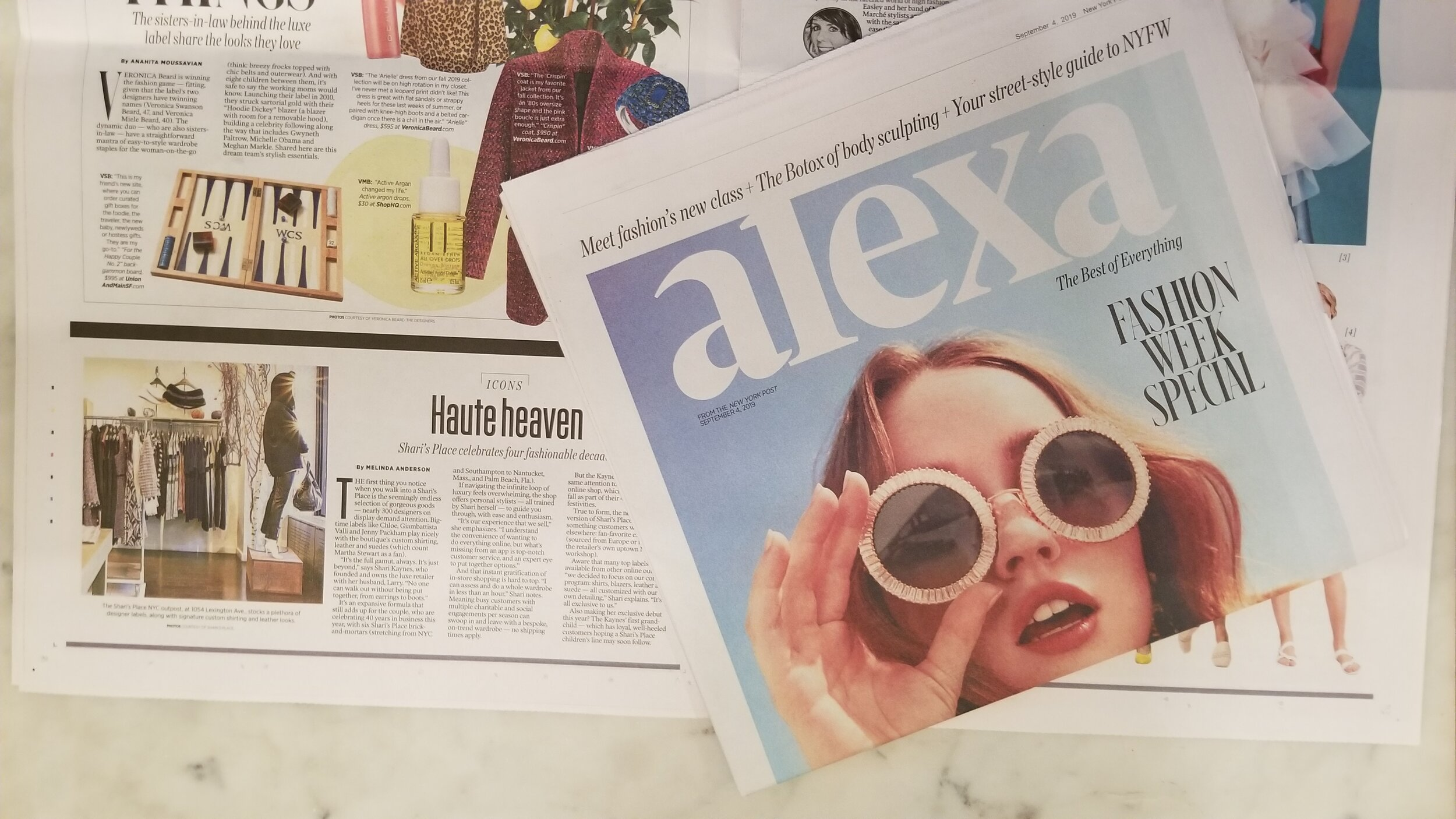 New York Post ALEXA, September 4th 2019