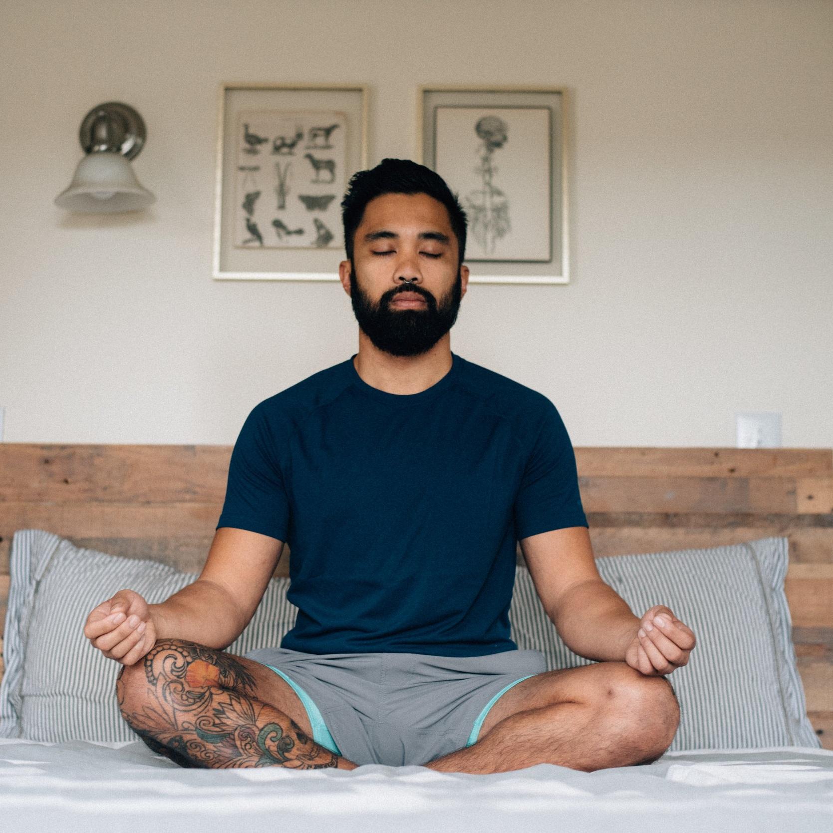 - breath-work & meditation