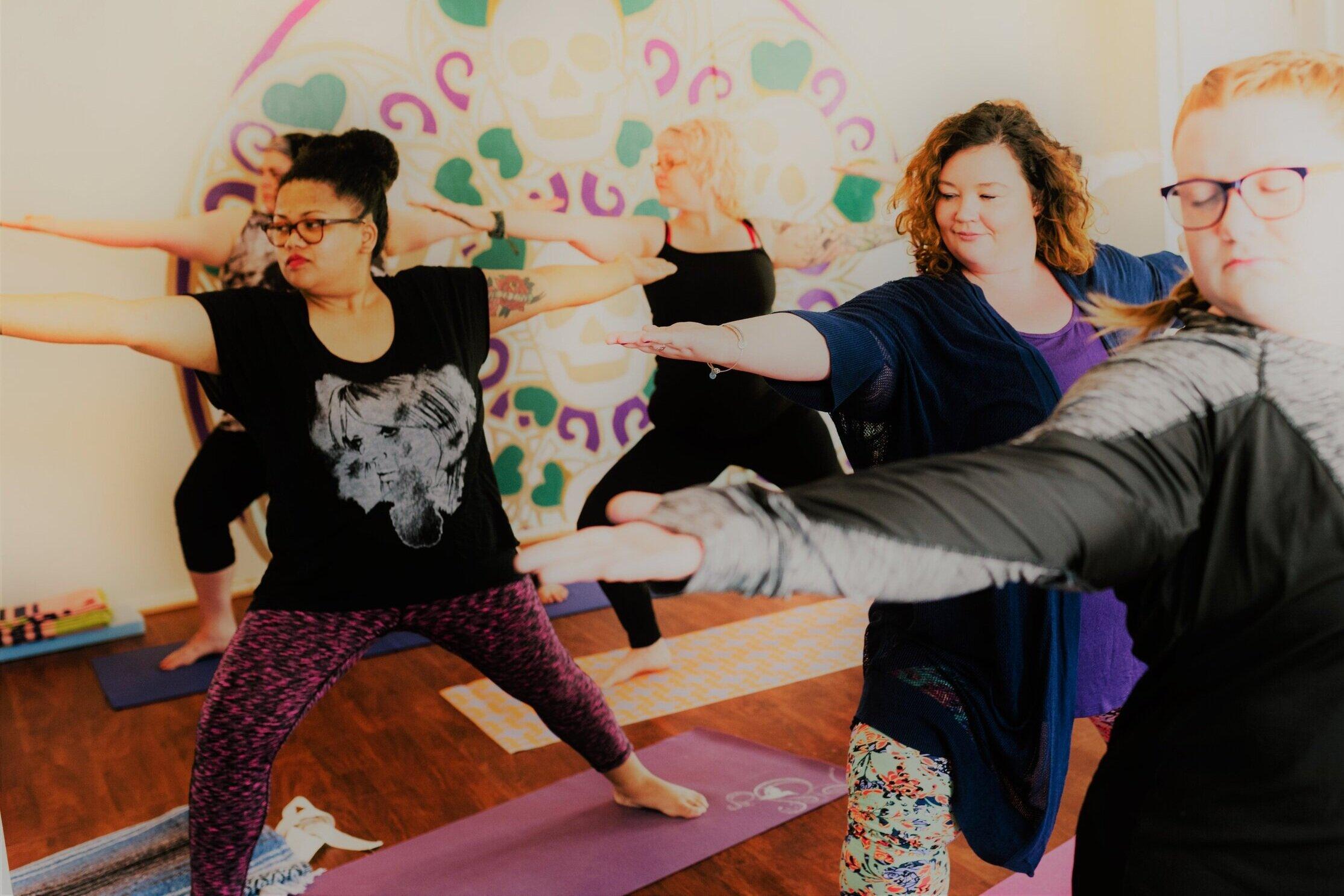 Curvy Yoga - Tuesday 6:30 pm