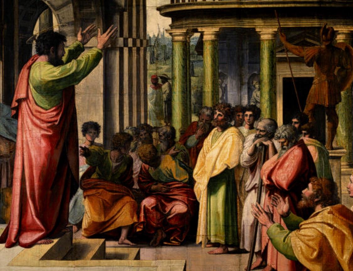 Areopagus Sermon,  Raphael