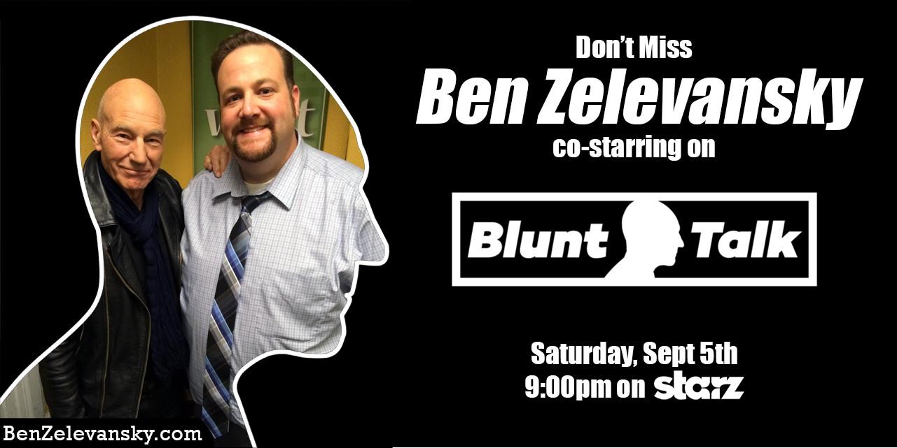Blunt Talk promo