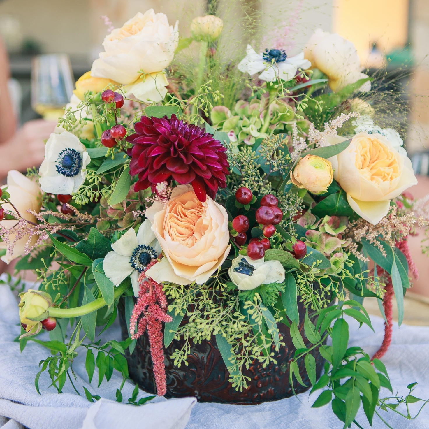 Florals - Let us personally express your message with florals. We can pick colors and floral varieties to set the mood.