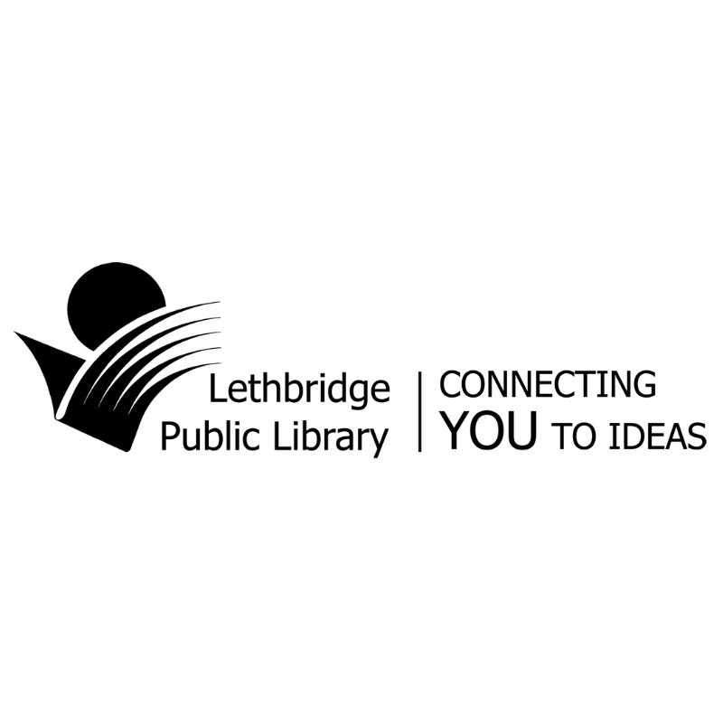 Lethbridge public library logo