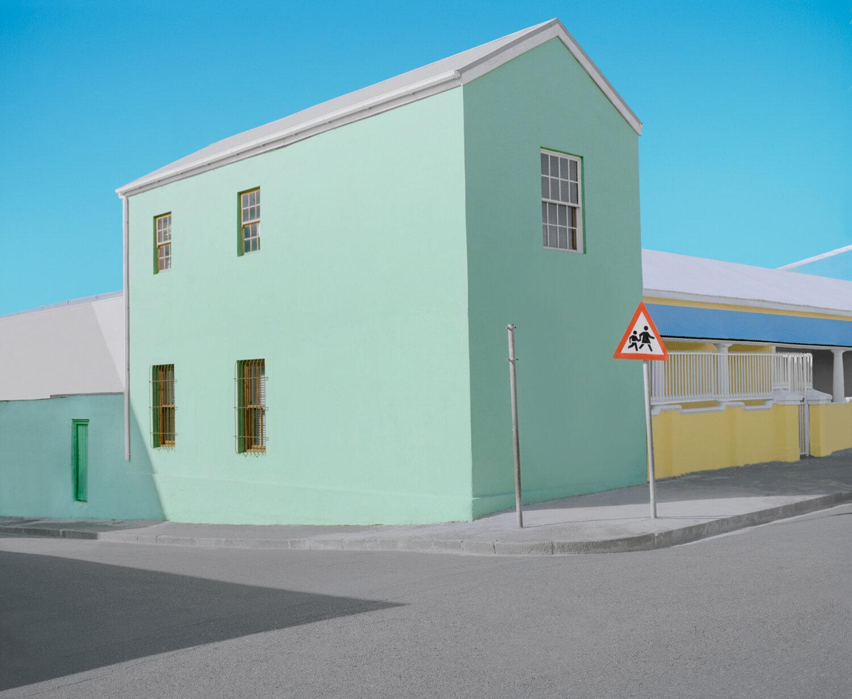 Greenishblue House  by Jannike Stelling