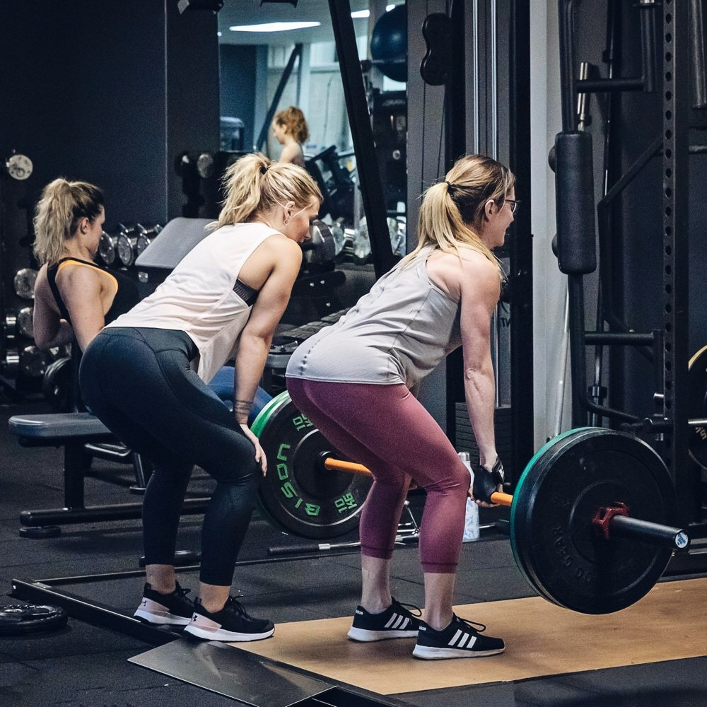 Female training clients