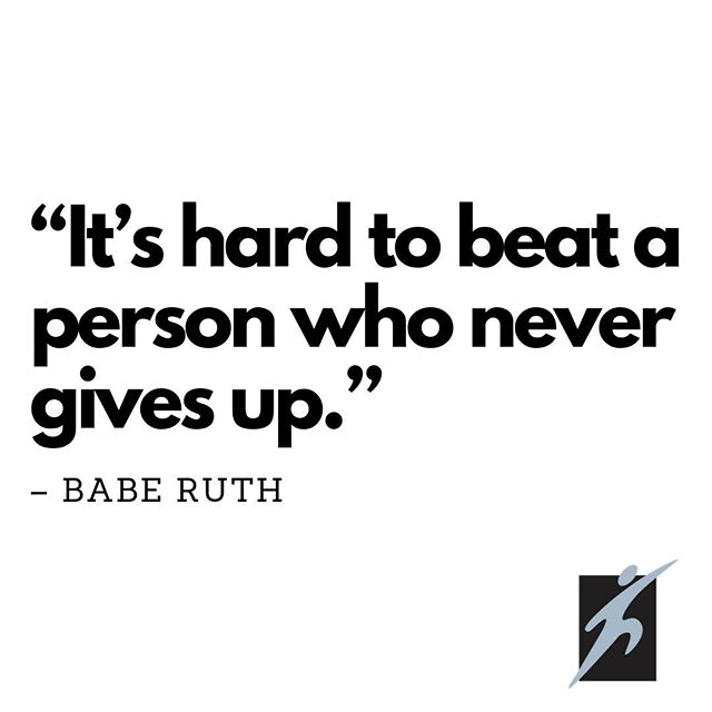 Never give up👊🏽EVER!  #smasaatwork #baberuth #baseball #spurs #sanantoniotrainers #sadoctor #sportsmedicine #birdsup