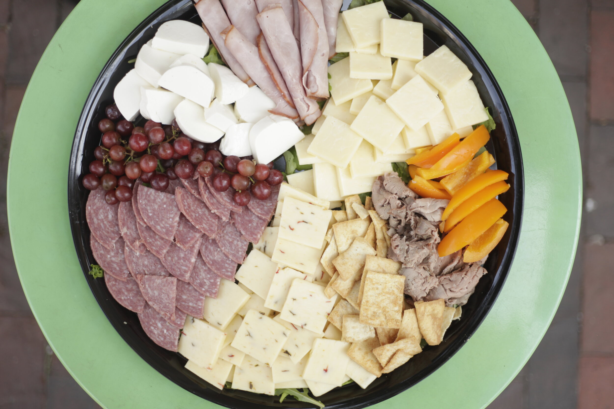 Meat and Cheese Platter - DAILY SELECTION OF ALL NATURAL MEAT & LOCAL CHEESE$50