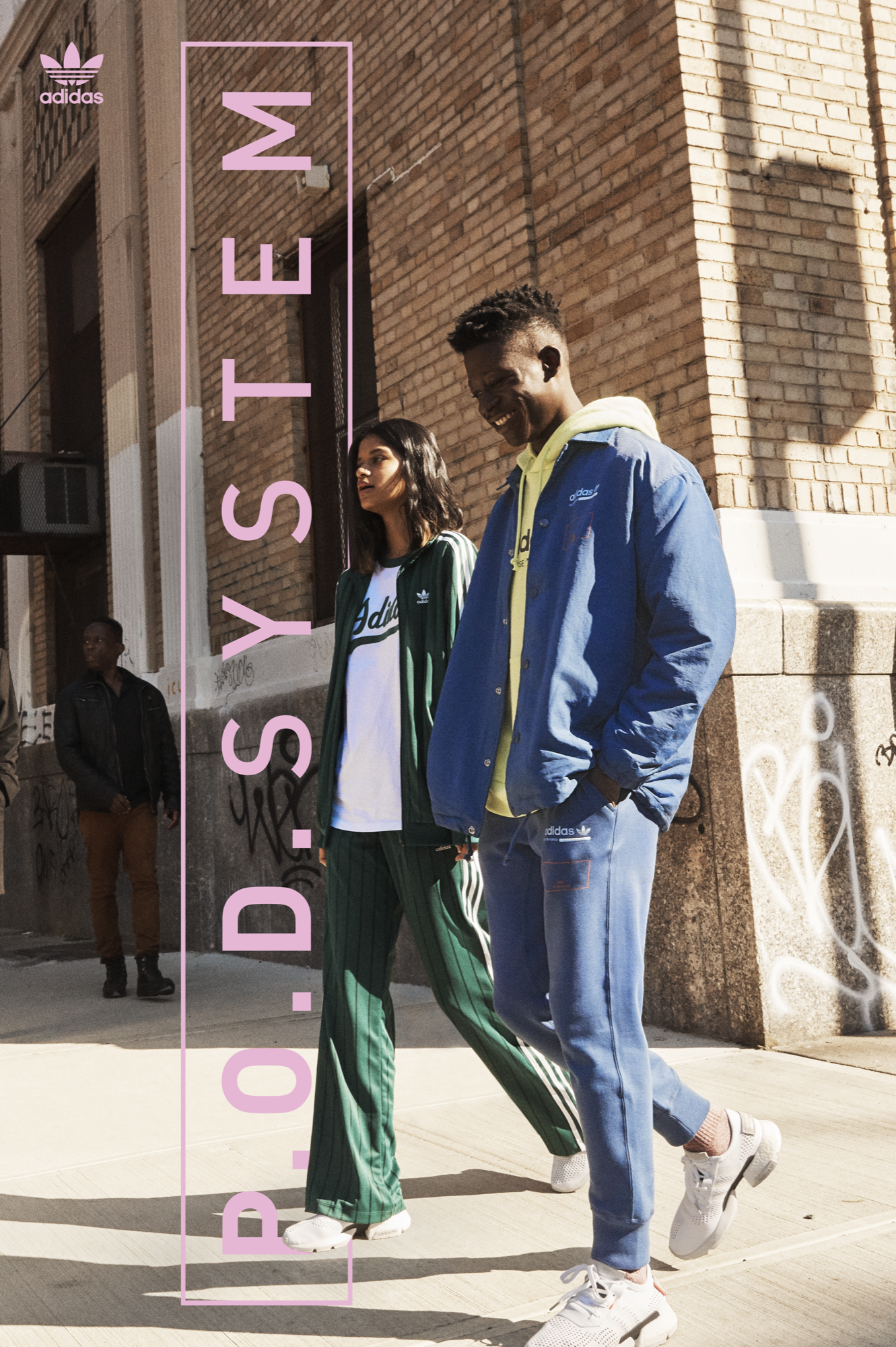 Styling for Adidas P.O.D. System Campaign
