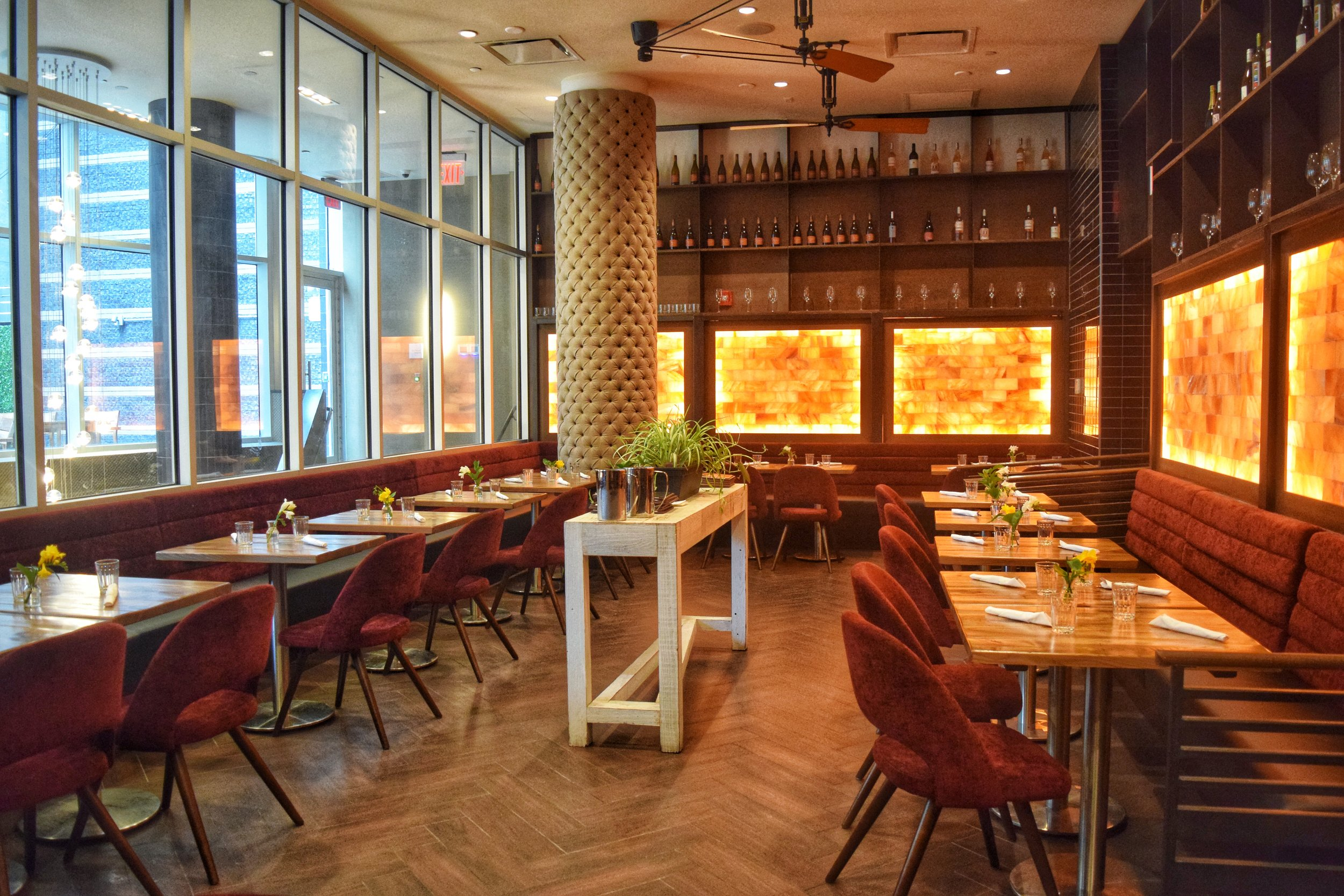 Classic restaurant - Located on the first floor of a hotel in Downtown Brooklyn. Partial or Full Buyout. It doesn't