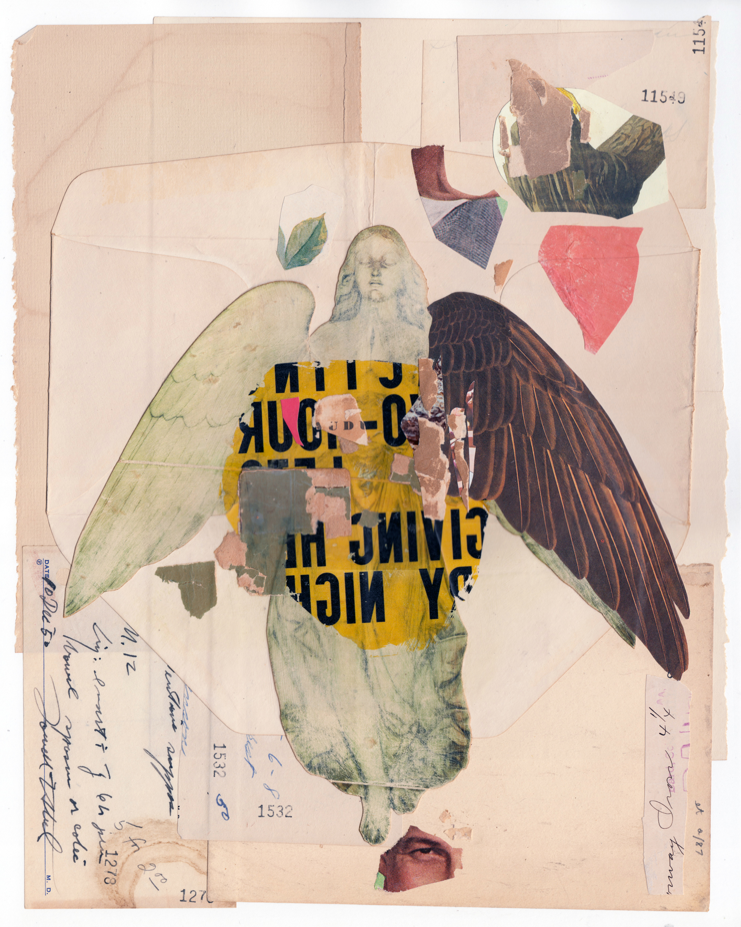 Collage Artists Doug Laurie Kanyer Art Collection