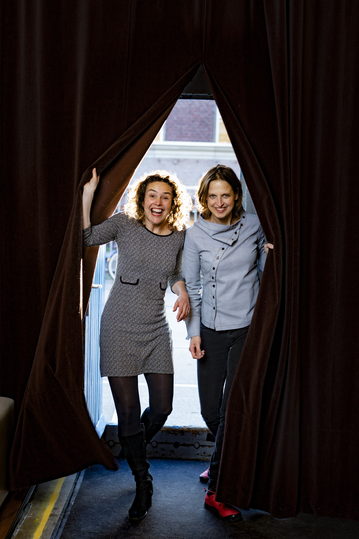 Miriam de Kleijn en Marieke Helmus