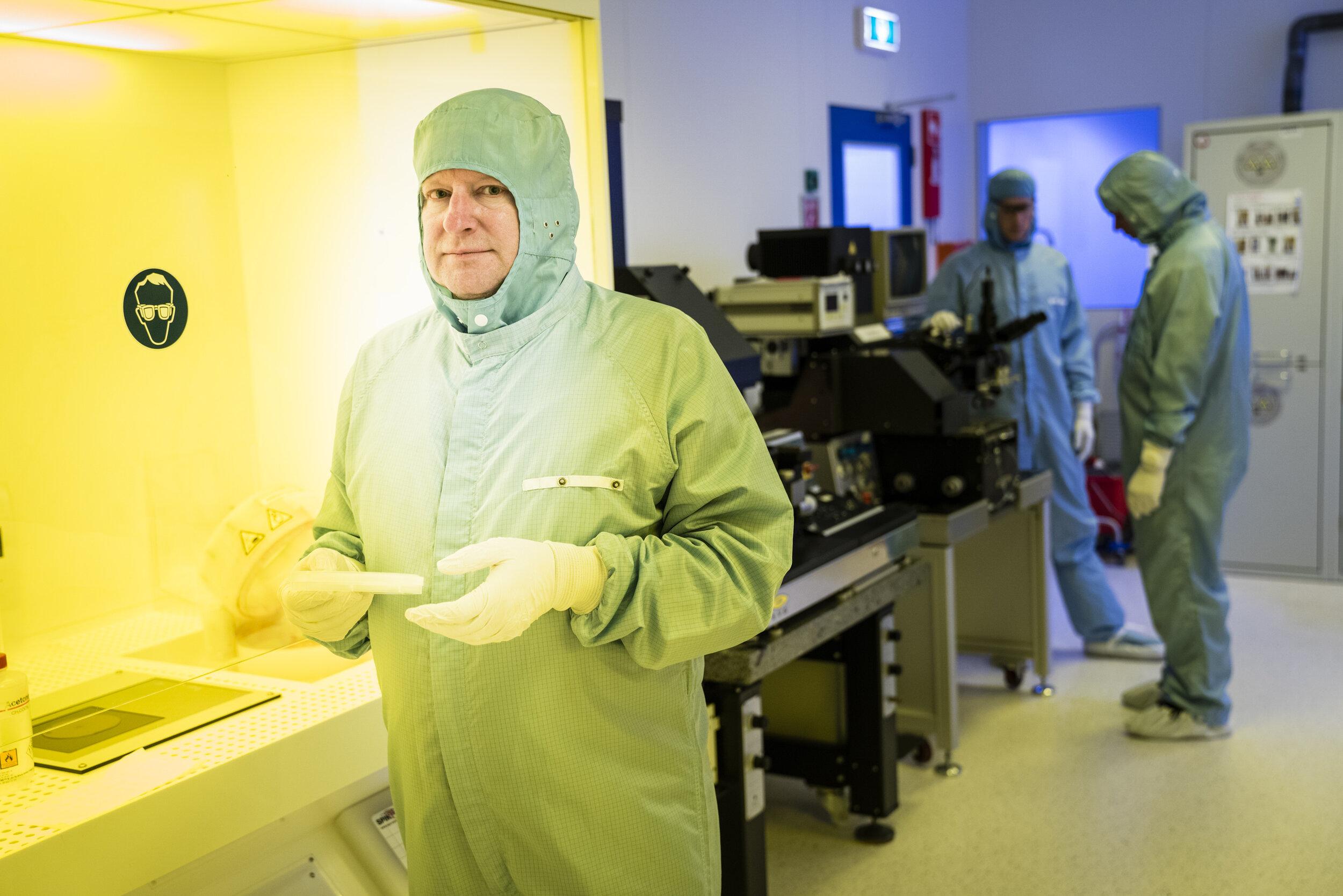 Bart van Wees hoogleraar technische natuurkunde