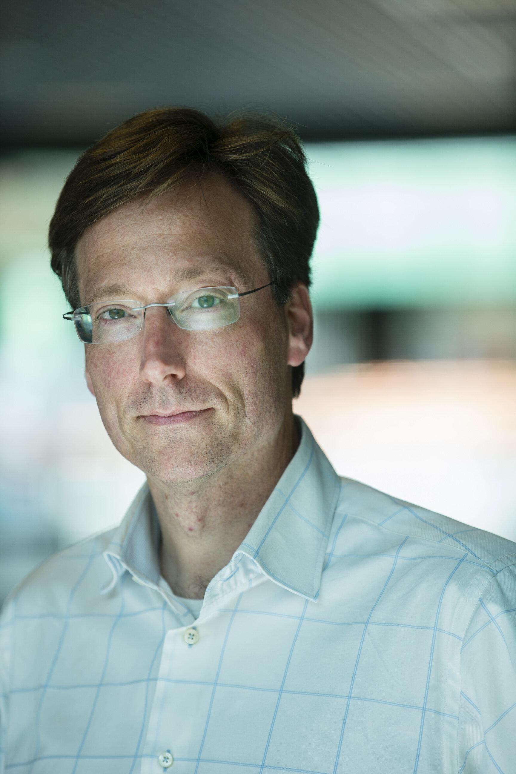 Wilhelm Huck hoogleraar hoogleraar fysische organische chemie