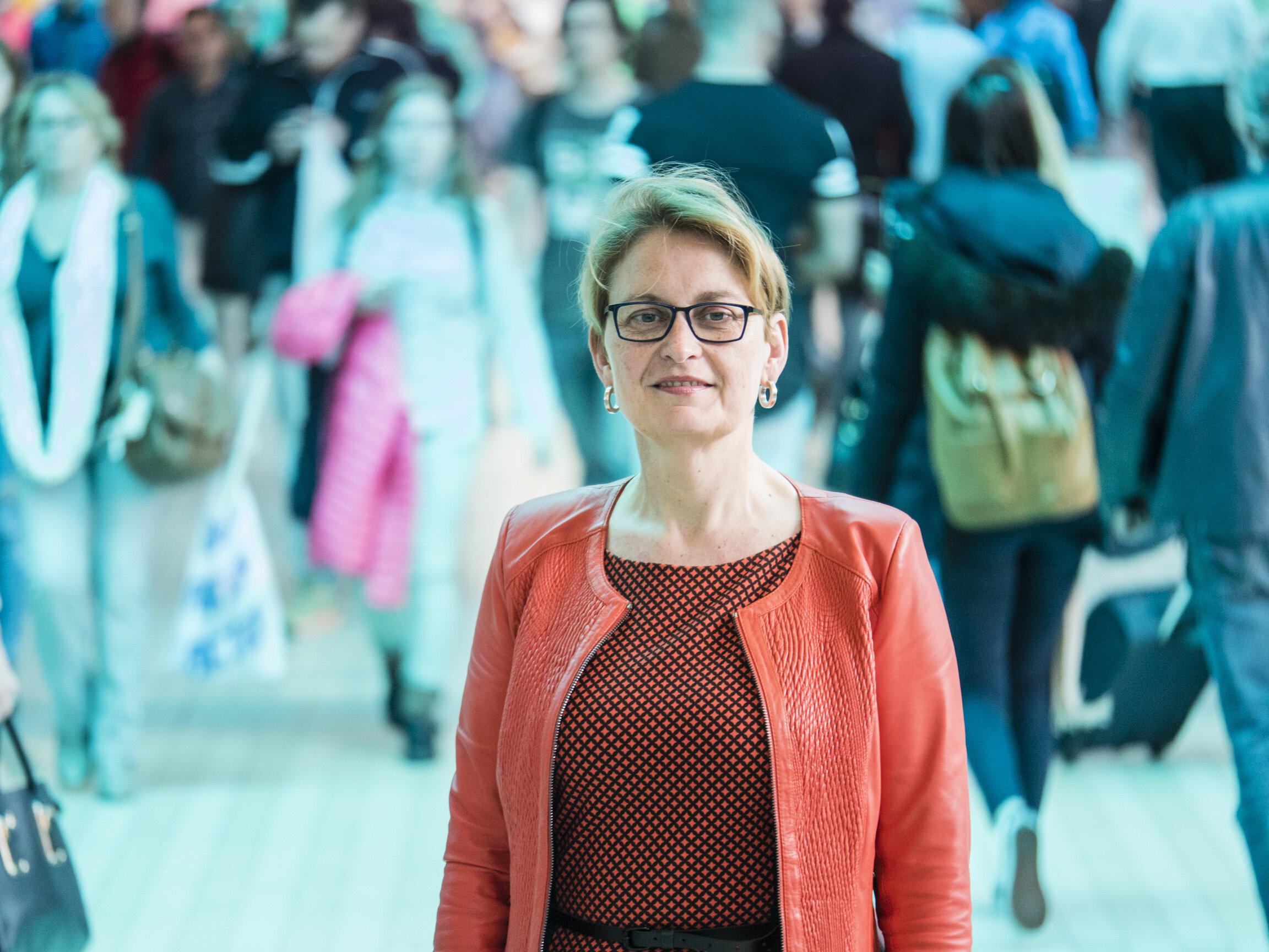 Ciska Wijmenga Rector Magnificus RUG, hoogleraar genetica en erfelijkheid