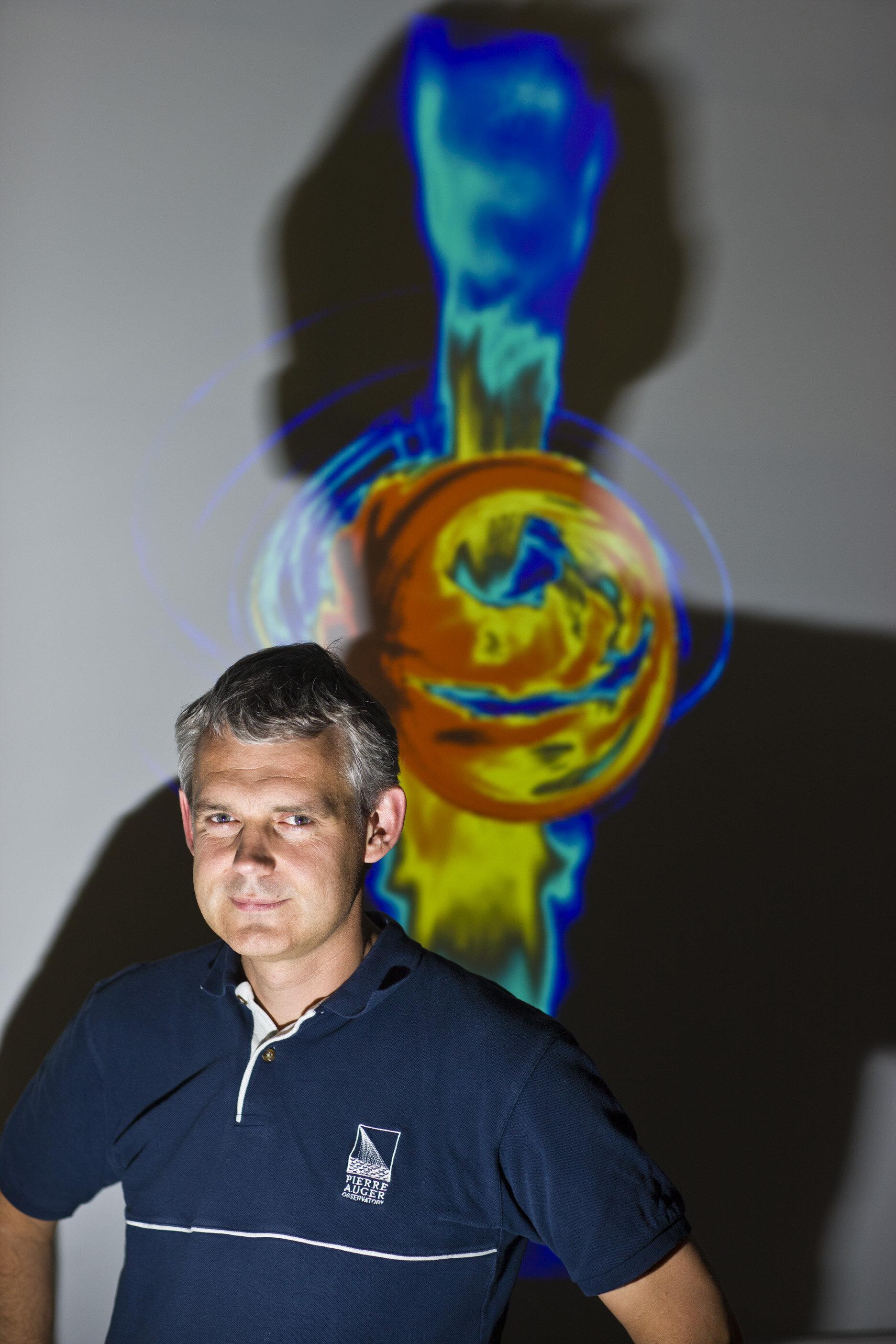Heino Falcke hoogleraar hoogleraar radioastronomie en astrodeeltjesfysica
