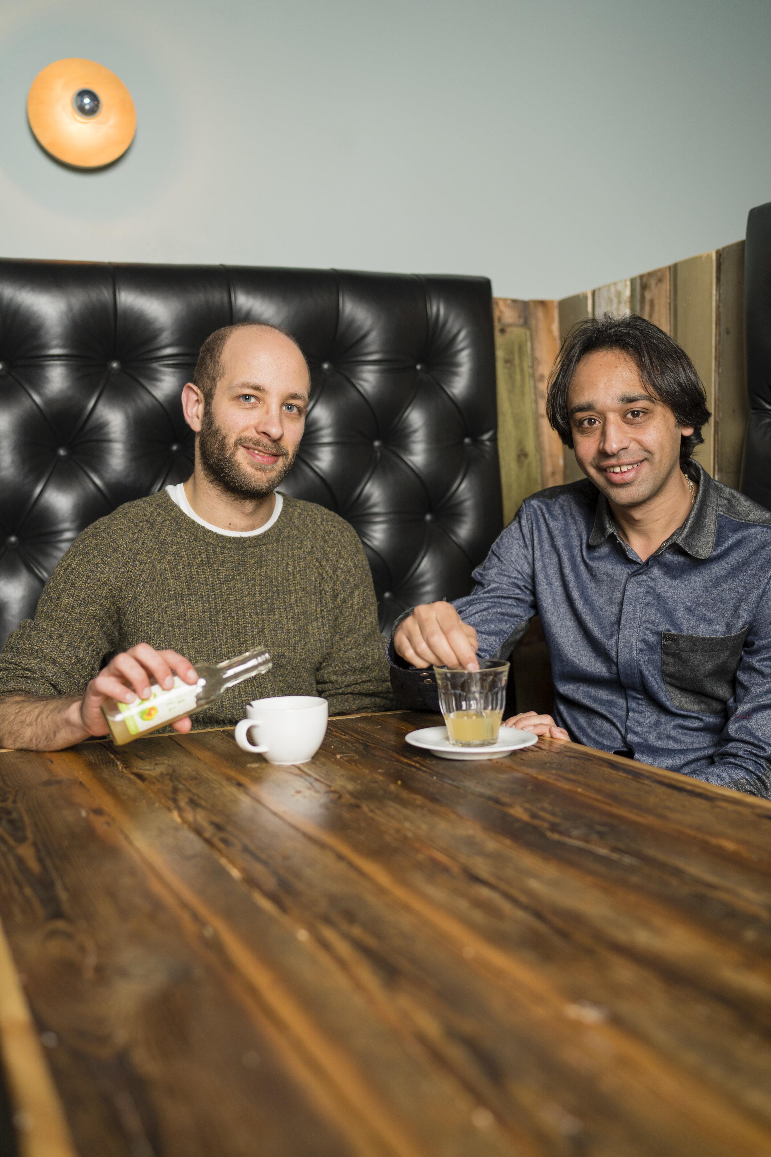 Dom Weinberg en Bashar Dassouki InclUUsion-buddy's
