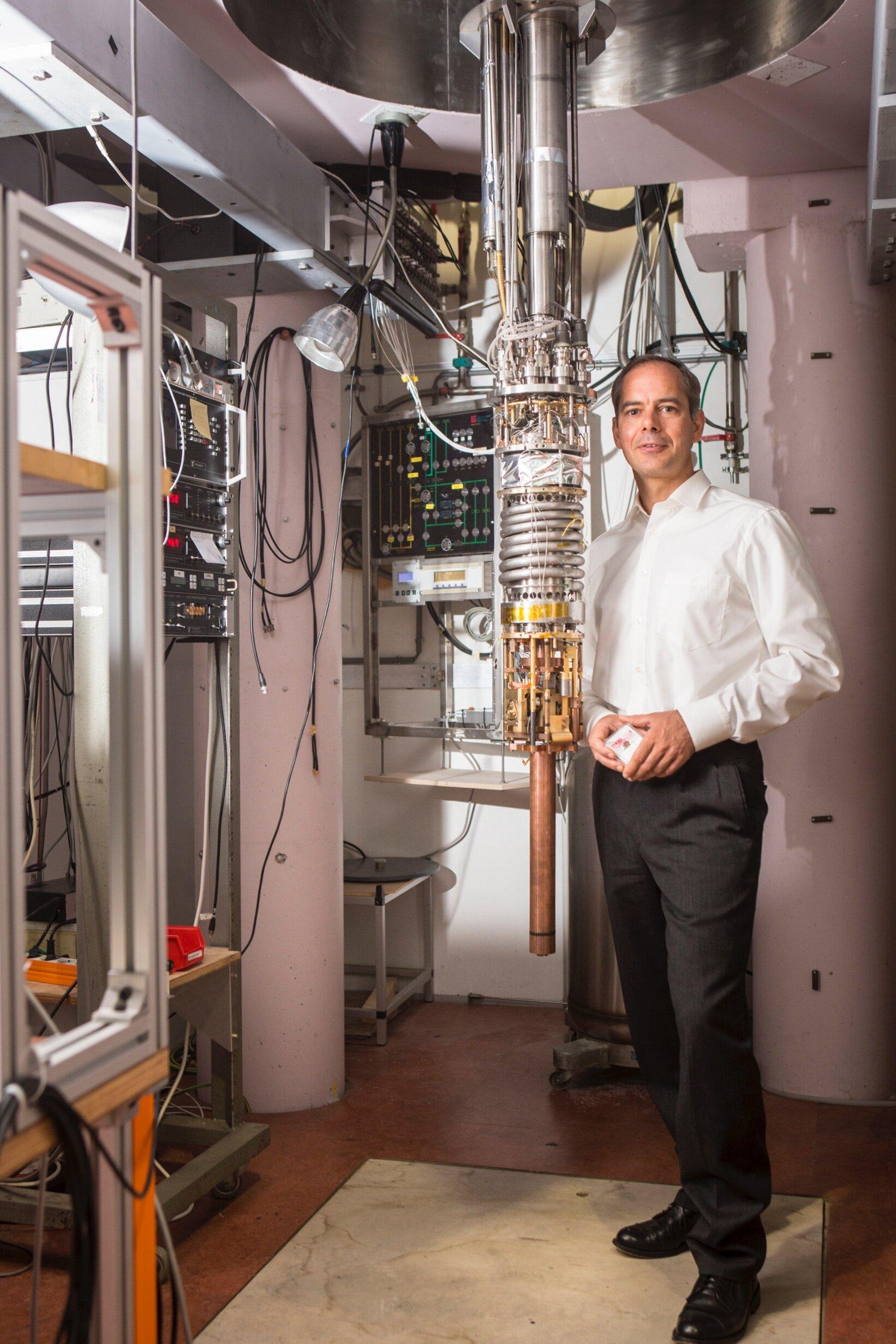 Dirk Bouwmeester hoogleraar kwantumoptica