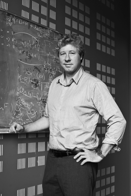 Erik Verlinde hoogleraar theoretische fysica