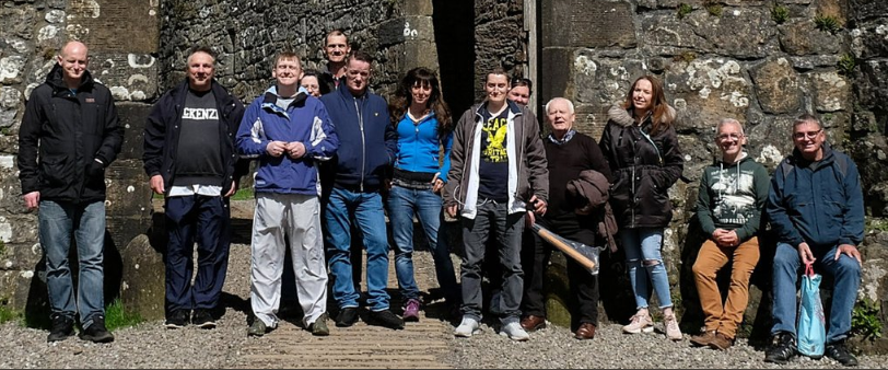 Some of the participants involved in projects supported through our prison throughcare network.