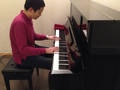 """""""We are very satisfied of this used Yamaha U3 we bought from Master Piano Service. we saved lots of money compare to buy a new one, we are so glad to get this original Japanese made piano, have been used for 3 years without any problem. My son love it too much and play it everyday! He got a impressive improvement for his piano skill. I will recommend Master Piano Service as the best piano store in Calgary!"""" - — TERESAYAMAHA U3 – Calgary"""