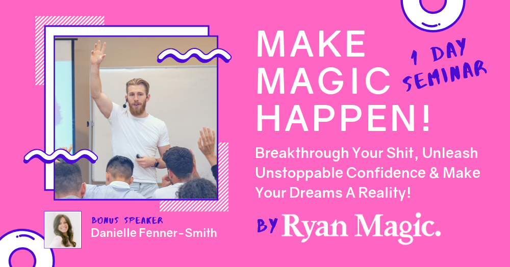 Make Magic Happen - Pink Banner