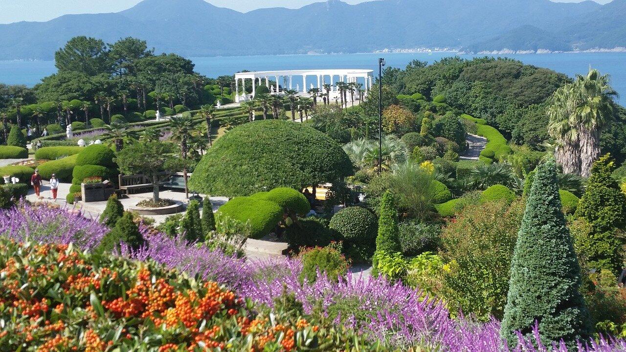 The Curious Beautiful Oedo Botania Island Korean Rooftop