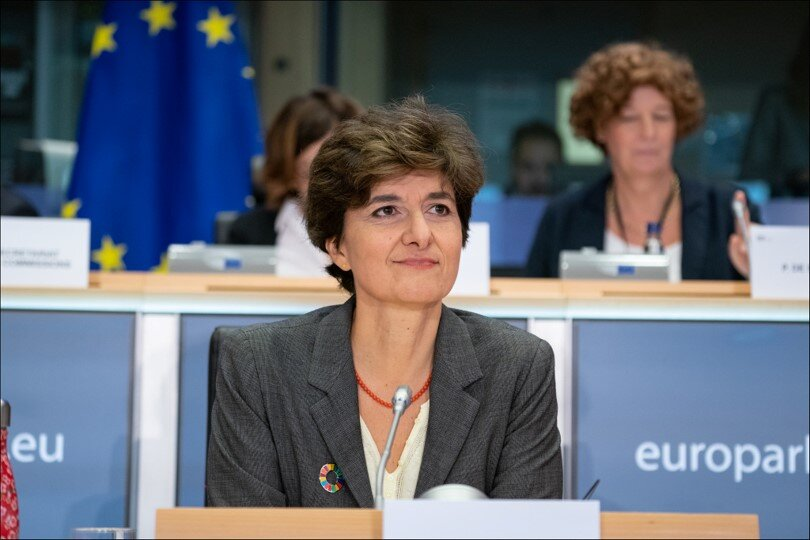 Sylvie Goulard, Commission Nominee for Industry, Digital, and Defense