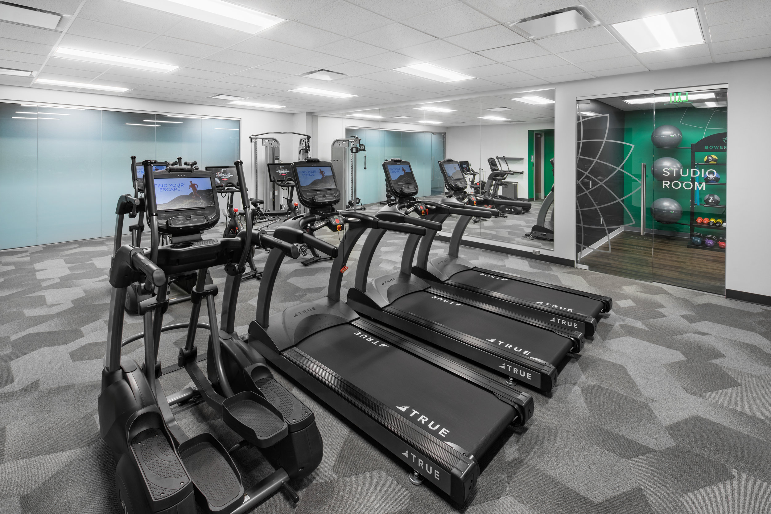 Fully Renovated Fitness Center