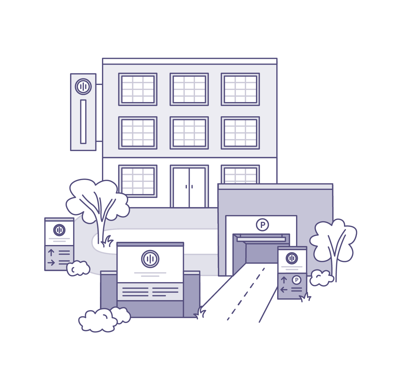 Nimble. Website | Illustrations | Services | Updated 09.30.19_Signage-Wayfinding.png
