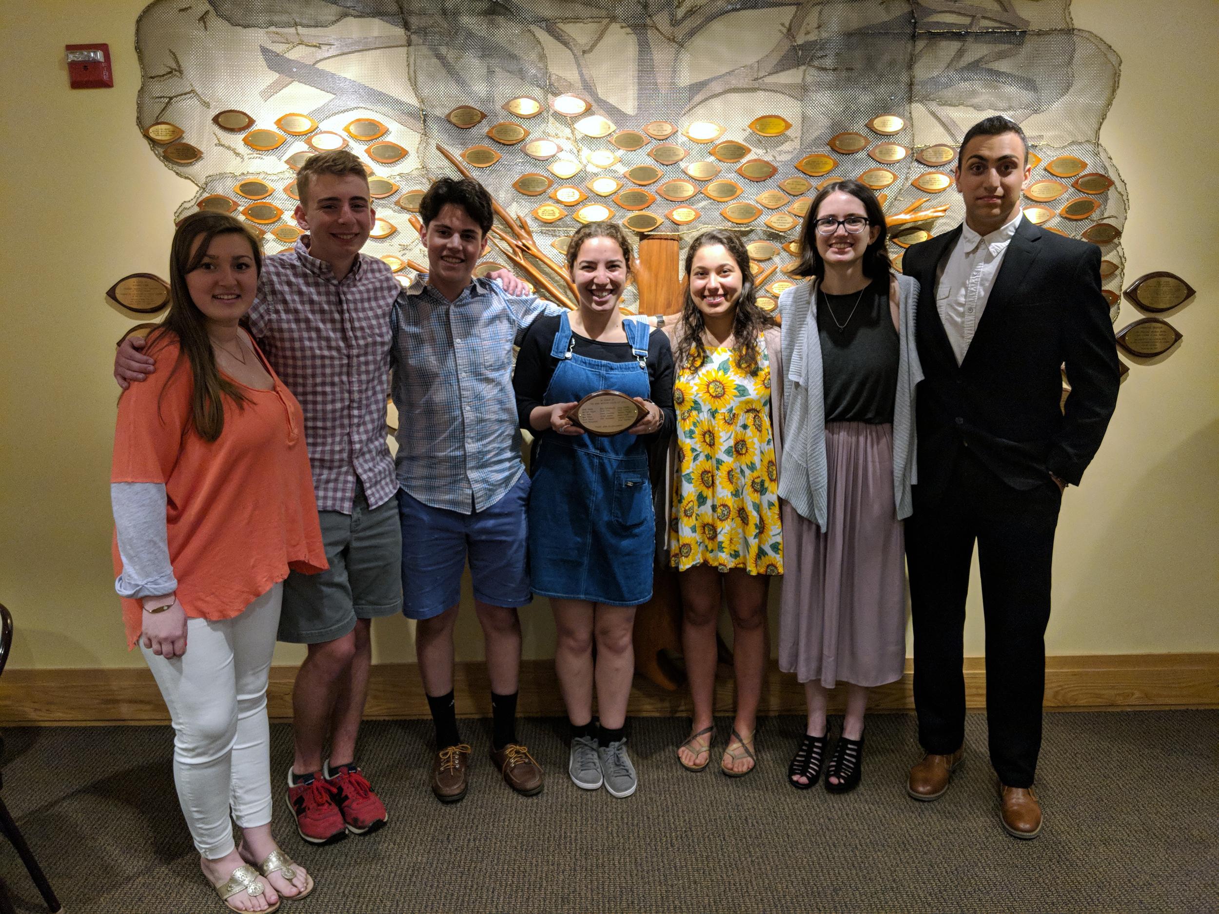 Graduation Shabbat - Honoring the class of 2018