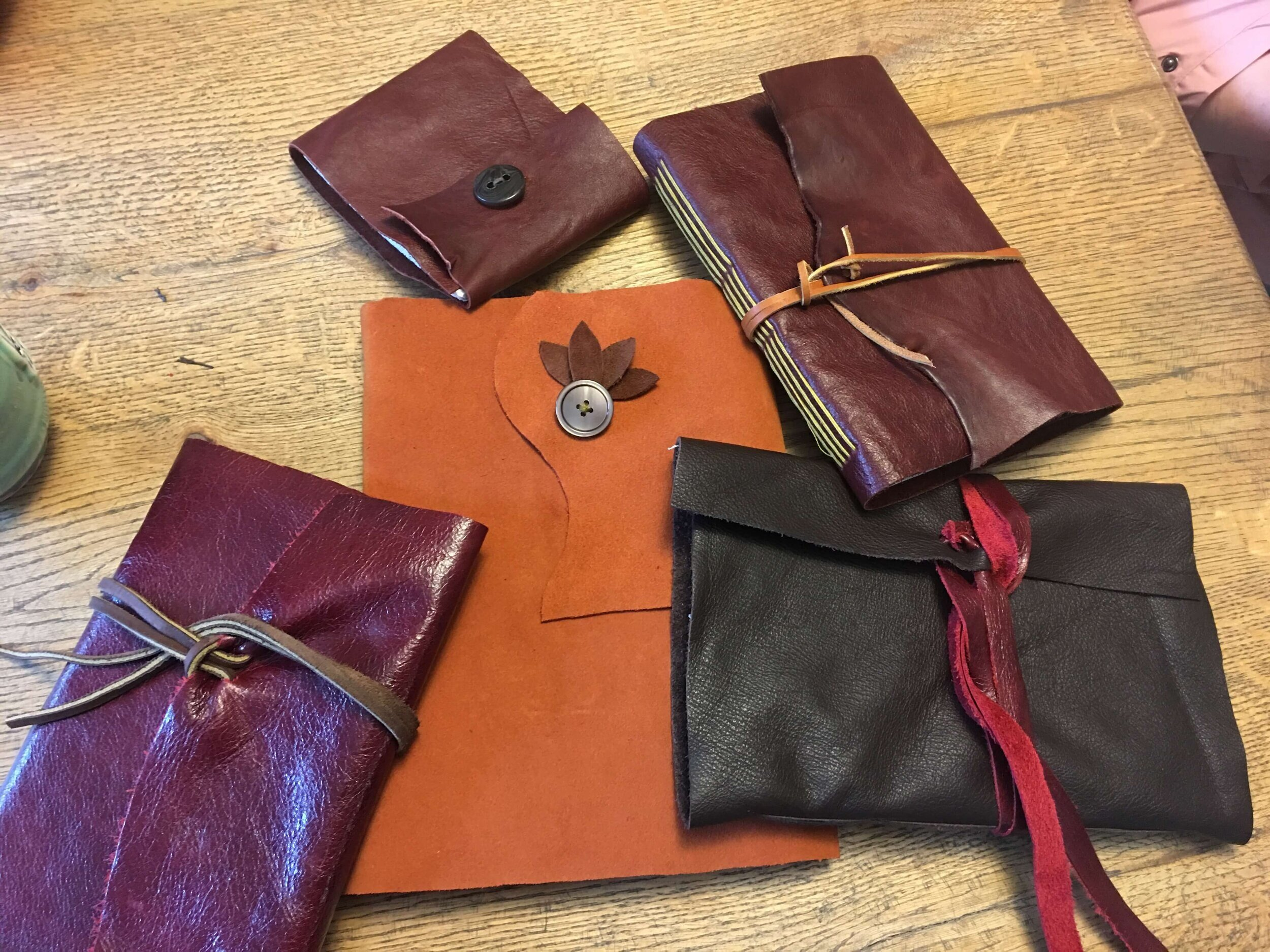 Leather Book Binding Workshop