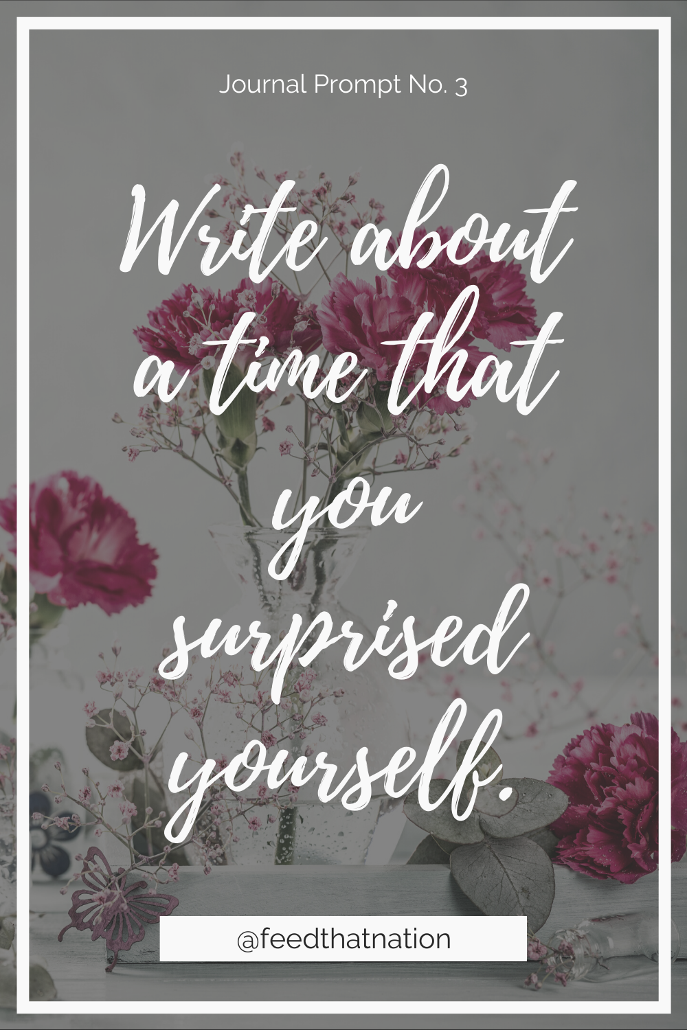 Write about a time that you surprised yourself