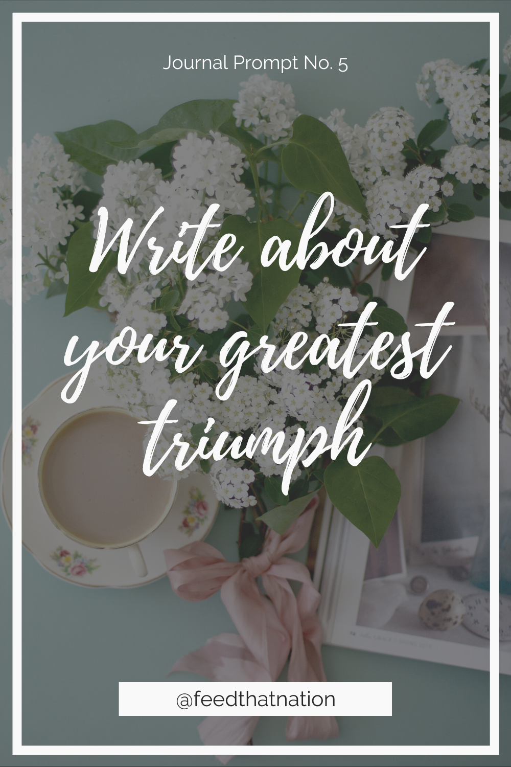 Write about your greatest triumph