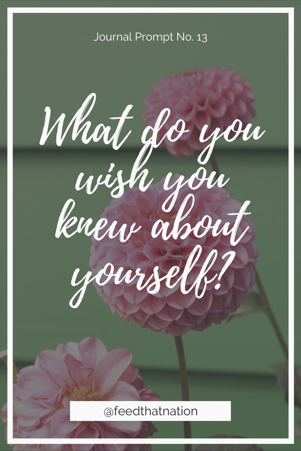 What do you wish you knew about yourself