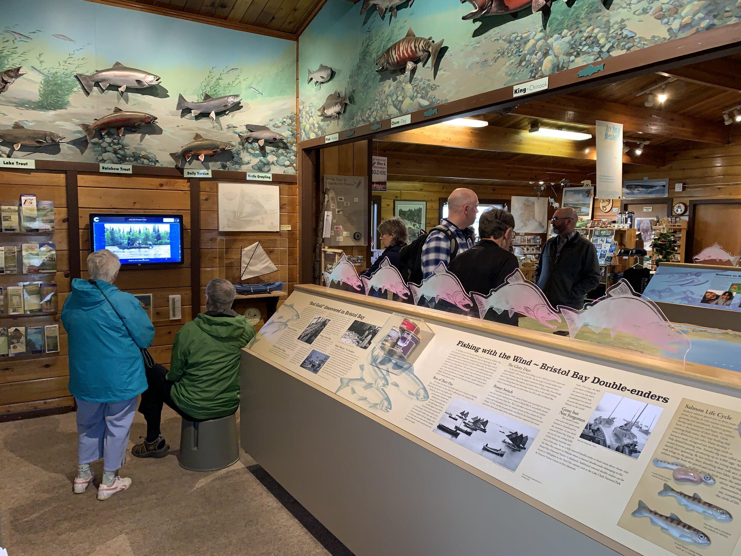 King Salmon Visitor Center