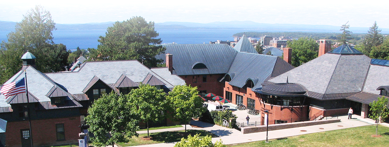 Meetings typically are hosted at Champlain College's SD Ireland Building