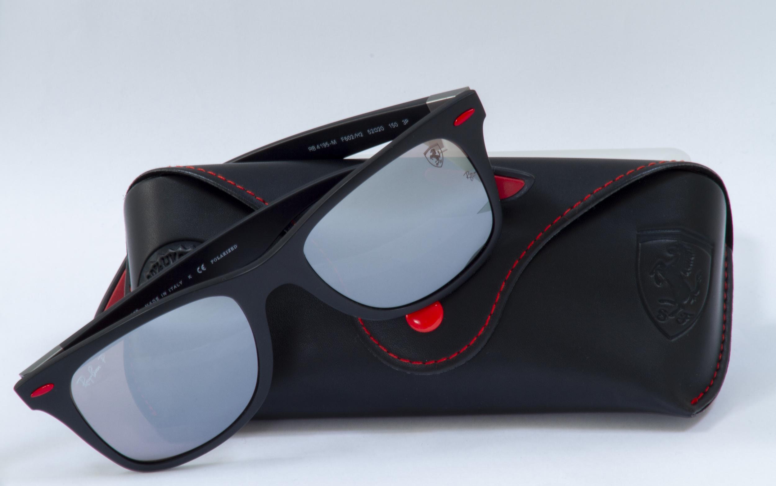 Scuderia Ferrari Ray Ban Wayfarer Specxmag
